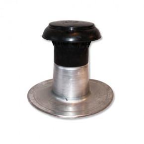 Évent complet  simple Ø 90-100 mm aluminium