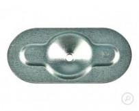 Plaquette de répartion métallique 82x40mm